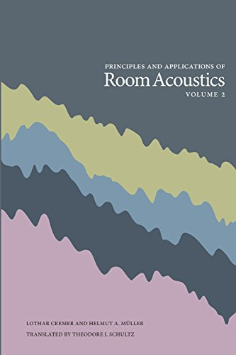9780932146748: Principles and Applications of Room Acoustics - Volume 2