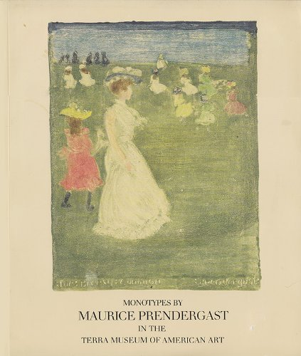 Monotypes by Maurice Prendergast In the Terra Museum of American Art.