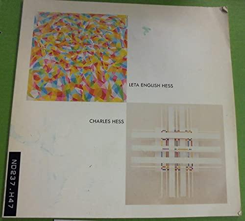 9780932173010: Leta English Hess / Charles Hess Joint Retrospective