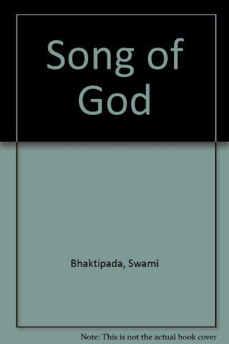 9780932215000: The Song of God (Bhaktipada Books)