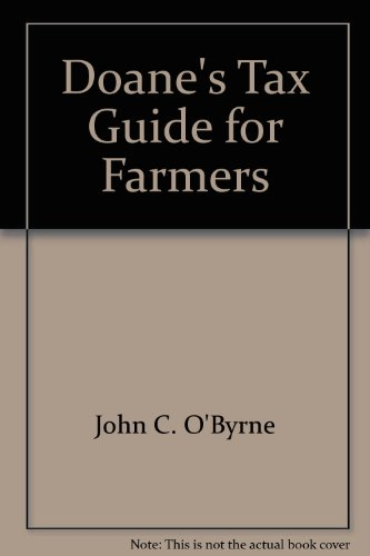 9780932250285: Doane's Tax Guide for Farmers