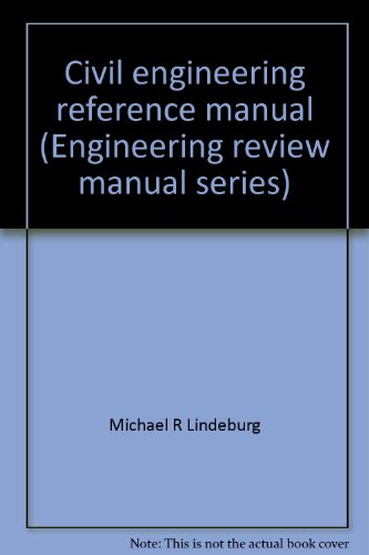 9780932276629 civil engineering reference manual engineering rh abebooks com fe civil engineering review manual civil engineering fe review manual pdf