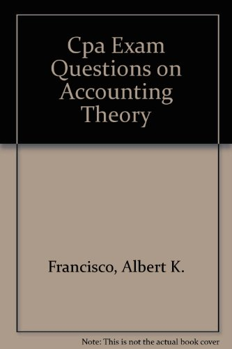 9780932276797: Cpa Exam Questions on Accounting Theory (CPA examination review series)