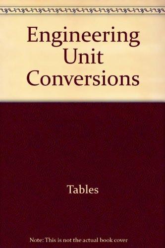 9780932276896: Engineering unit conversions (Engineering review manual series)