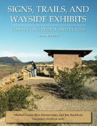 9780932310484: Signs, Trails, and Wayside Exhibits: Connecting People and Places (Interpreter's Handbook Series)