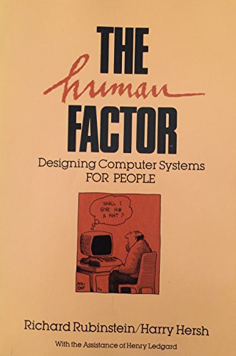 9780932376442: The human factor: Designing computer systems for people