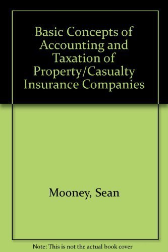 9780932387448: Basic Concepts of Accounting and Taxation of Property/Casualty Insurance Companies