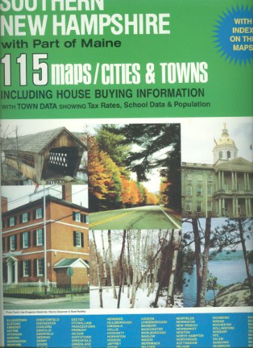Universal atlas of southern New Hampshire, with part of Maine: 115 maps/cities & towns: ...