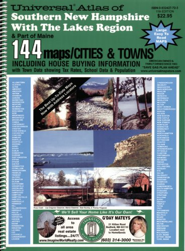 9780932427724: Southern New Hampshire Atlas with the Lakes Region
