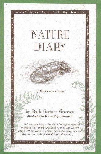 Nature diary of Mt. Desert Island: Grierson, Ruth Gortner