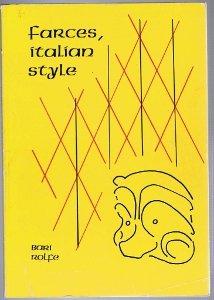 9780932456021: Farces, Italian Style