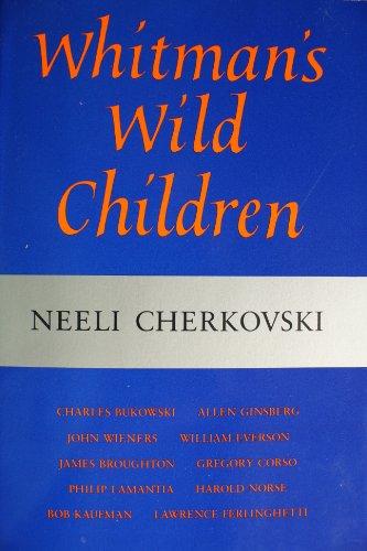 9780932499561: Whitman's Wild Children