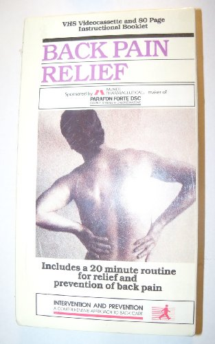 9780932513274: Feeling Fine Back Pain Relief (Intervention and Prevention A Comprehensive Approach to Back Care)