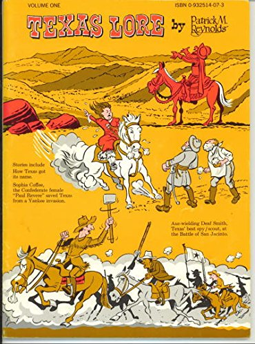 Illustrated Texas Lore (2 Box Sets) (Texas Lore, Volumes 1-4 & 5 -10: Reynolds, P.