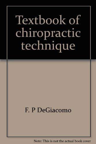 9780932544254: Textbook of chiropractic technique