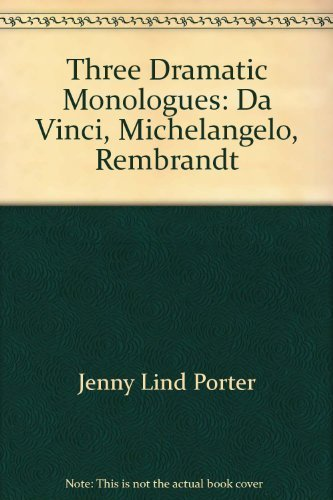 Three Dramatic Monologues: Porter, Jerry Lind