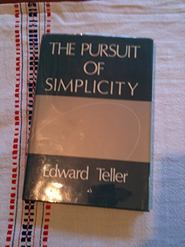 9780932612021: The pursuit of simplicity