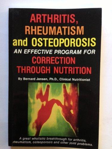 9780932615039: Arthritis, Rheumatism and Osteoporosis