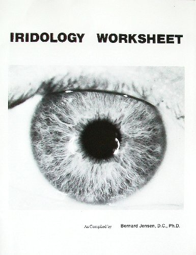 Iridology Worksheet (9780932615596) by Bernard Jensen