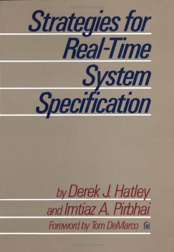 9780932633040: Strategies for Real Time System Specification