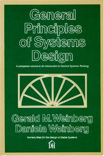 9780932633071: General Principles of Systems Design