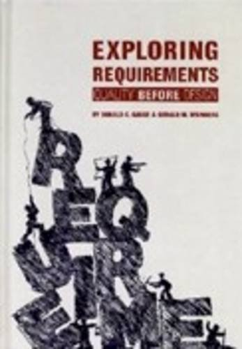 9780932633736: Exploring Requirements: Quality Before Design