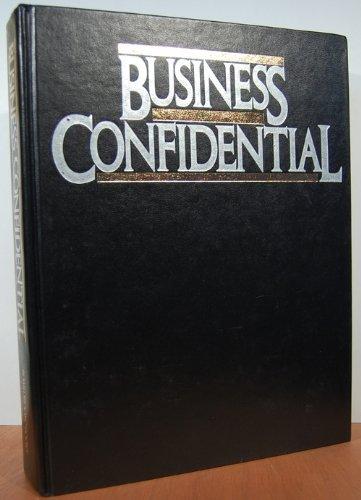 9780932648822: Business confidential