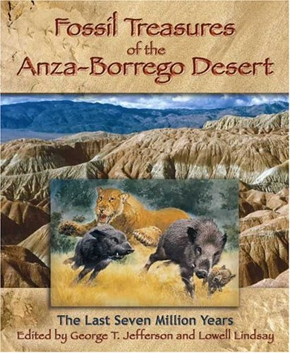 9780932653505: Fossil Treasures of the Anza-Borrego Desert
