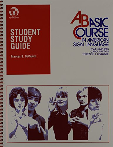 9780932666338: Student Study Guide to a Basic Course in American Sign Language