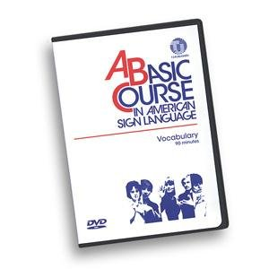 9780932666413: A Basic Course in American Sign Language Vocabulary DVD