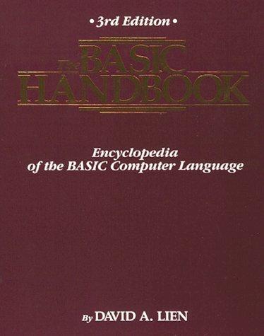 9780932760333: The Basic Handbook: Encyclopedia of the Basic Computer Language