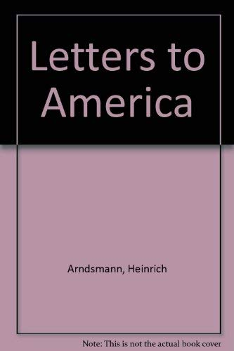 9780932826381: Letters to America