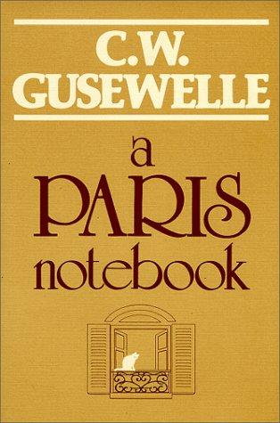 9780932845016: A Paris Notebook