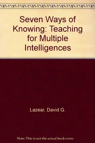 9780932935182: Eight Ways of Knowing