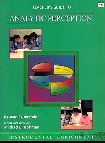 9780932935984: Teacher's Guide to Analytic Perception (Instrumental Enrichment)