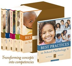 9780932955708: Best Practices in School Psychology V (6 Volumes, 10 Sections, 141 Chapters)