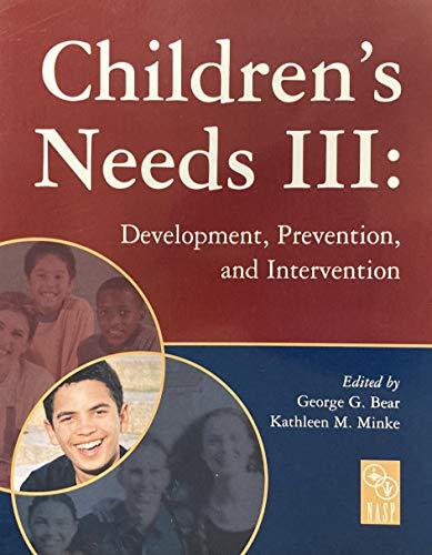 Children's Needs III:: Various