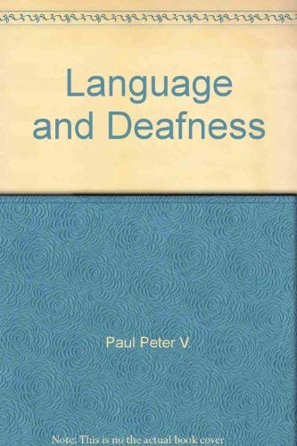 9780933014145: Language and Deafness