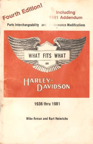 9780933078048: What fits what on Harley-Davidson, 1936 thru 1983: Parts interchangeability a...