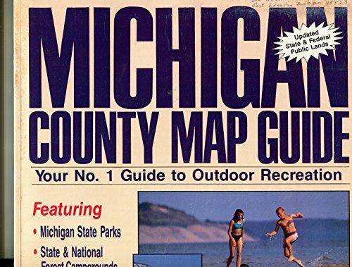 9780933112186: Michigan County Map Guide