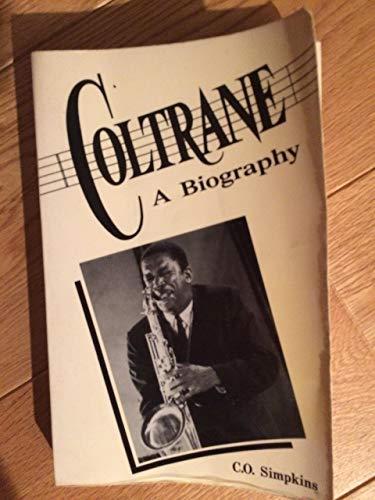9780933121201: Coltrane: A Biography