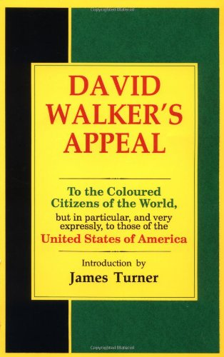 9780933121386: David Walker's Appeal