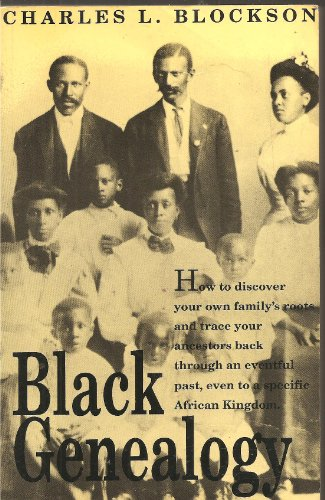 9780933121546: Black Genealogy