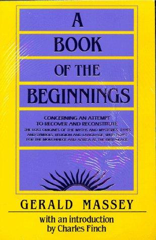A Book of the Beginnings ( 2 volume set): Massey, Gerald