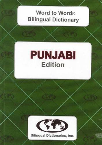 9780933146327: Punjabi edition Word To Word Bilingual Dictionary