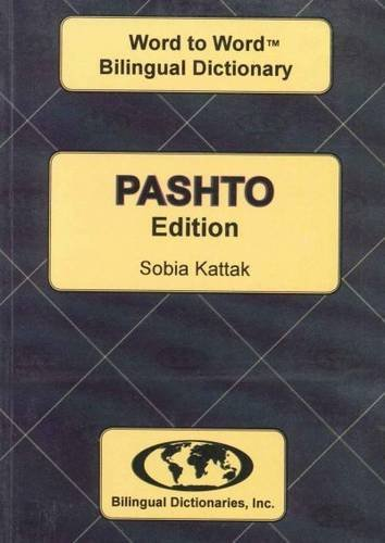 English-Pashto & Pashto-English Word-to-Word Dictionary (suitable for exams): C. Sesma