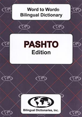 9780933146341: English-Pashto & Pashto-English Word-to-Word Dictionary: Suitable for Exams