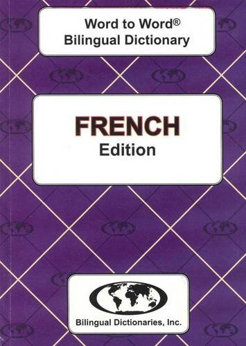 9780933146365: French edition Word To Word Bilingual Dictionary