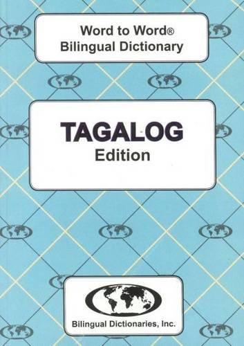 9780933146372: English-Tagalog & Tagalog-English Word-to-Word Dictionary: Suitable for Exams