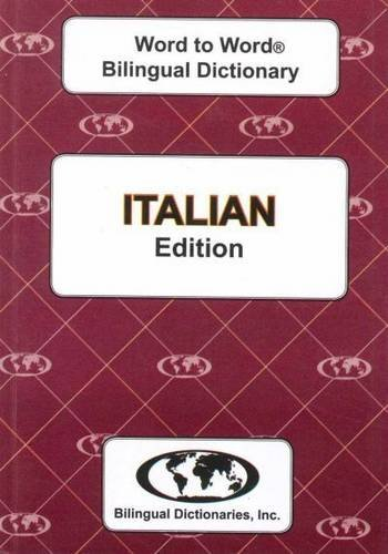 9780933146518: English-Italian & Italian-English Word-to-Word Dictionary: Suitable for Exams (English and Multilingual Edition)